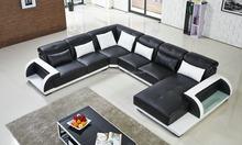Comfort design furniture sofa, Modern L Shape Sofa with Headrest, Decorative sofa L shape with box
