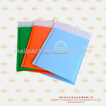mailing bag colored poly bubble envelope/mailer