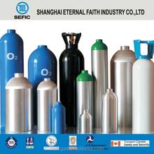 Empty Gas Cylinder High Quality High Pressure Aluminum Medical Oxygen Cylinder Oxygen Facial Equipment