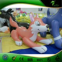 2015 Hot Sale Fresh Inflatable Orange Dog