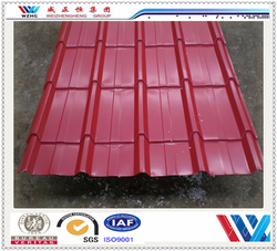 Alibaba China color asphalt roofing shingles/interlocking roof shingles with step for prefab house and warehouse
