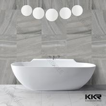 Tamaño personalizado bañeras de superficie sólida bañera blanco