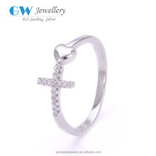 Free Shipping Pure Silver 925 Ring China Factory Direct Wholesale Jewelry Criss Cross Ring