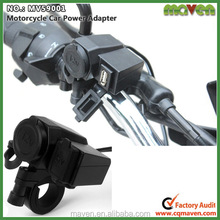 Waterproof Integration 12V Motorcycle Cigarette Lighter Socket 5V USB Power Charge Port MV59001