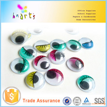 Plastic moving eyes moving circle eyes toys diy craft moving eyes