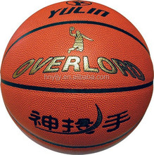 rubber/pvc basketballs with pump/beach balls
