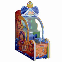 2015 Most popular kids coin operated water shooting gun games Redemption Game Machine factory