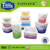 Watertight food grade box silicone storage container with lid made in China