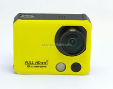 Full HD 1080P sport camera wifi waterproof with 2.4G remote
