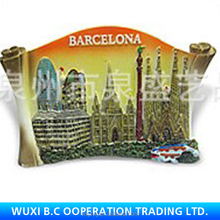 Alibaba express wholesale giveaway fridge magnet novelty products for sell