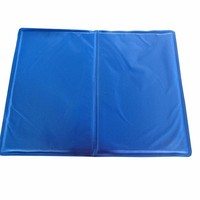 Dog Cat Pet Cooling Cushion Pad Cool Water Gel Mat Seat Bed 4 Sizes