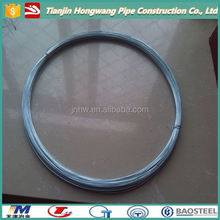 iso hot dipped galvanized steel wire for acsr/bwg # 14 gauge galvanized wire hot dipped/cotton baling tie wire(factory)