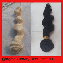 2015 product fantasy virgin brazilian hair extension loose wave virgin hair