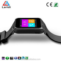 2015 bluetooth and wifi smart watch phone GV09 smartwatch support SIM card for android phone