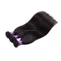 Unprocessed Virgin Brazilian Straight Hair 3pcs lot 100g Natural Black Color 1b Rosa Hair Products Brazilian Human Hair Straight