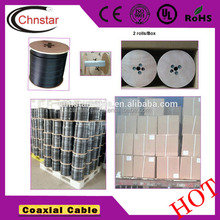 CHR240 coaxial cable fully automatic coaxial cable stripping machine cable making equipment