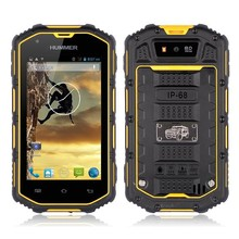 IP67 waterproof rugged used mobile H5 phone with 3G dual core smartphone Touch Screen