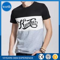 fancy design men tshirt/short sleeve men tee shirt /men printed t-shirt