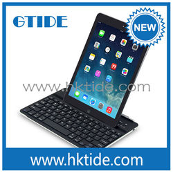2015 new product Cheap Aluminum Case With Bluetooth Magnetic Clip Keyboard For Ipad Air 2