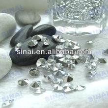 Popular Wedding Favors Decoration Sliver Back Crystal Acrylic Diamond
