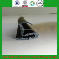new best selling automotive rubber parts door glass edge weather strip