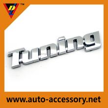 Tuning auto parts car badges emblems