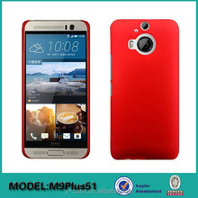 Very good feel Rubberized Hard PC case for HTC one M9 Plus