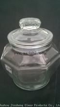 genuine quality Jade gold gentleman's glass Sugar Bowl sugar tank nuts storage tank