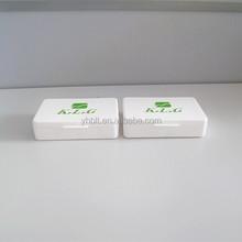 Plástico retângulo Mini cubículo Pill Boxes