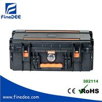 382114 IP67 Heavy-Duty Plastic Storage Box With Wheels