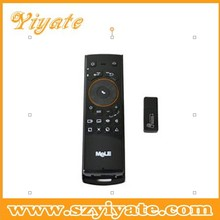 2.4GHz Mini wireless Keyboard+Fly air Mouse+IR remote for PC computer Android TV Box player HTPC Games Mele F10 fly mouse