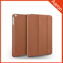 Flip Genuine leather case for ipad for ipad air 2 case