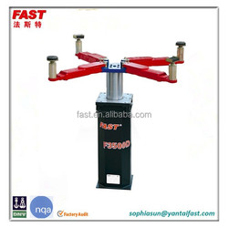 F3500D single post inground car lift with 3.5T capacity