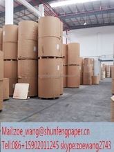 China Paper Duplex Coated White Back Paper In Reel Mills china manufactory