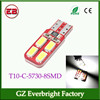 Latest CANBUS car light led t10 canbus 8smd samsung led 5730 smd led, led interior light