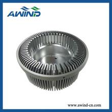 High precision aluminum led heatsink for lighting