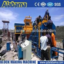 tamaño estándar manual de bloque hueco de hormigón de la máquina de moldeo