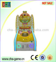 Mini basketball game machine,vending game machine for children