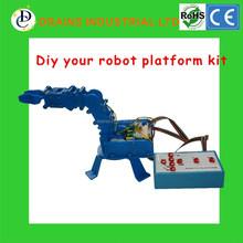 Self Assembly electronics education DIY Robot Arm platform learning Control Kit