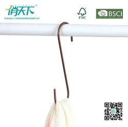 Betterall Copper Small S Hook Scarf Metal Hangers