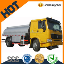 Short Delivery SINOTRUK 4*2 8.5 cubic EURO II 290hp HOWO oil truck for sale