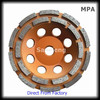 Good quality diamond cup wheels concrete For Marble