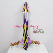 Wholesale rocket balloon foil helium balloons for classic toys,cartoon mylar balloon