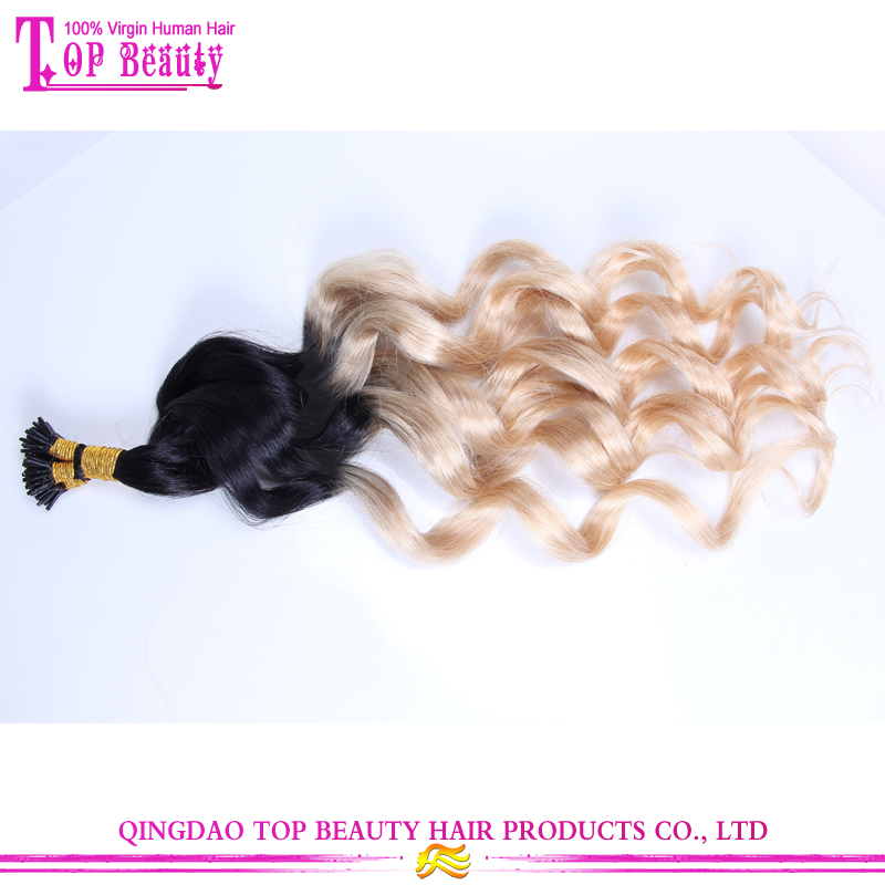 Curly Hair Extensions Pre Tip 34
