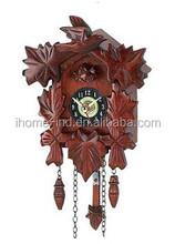 Moderna cuco del reloj relojes de pared con el sonido de madera reloj de cuco
