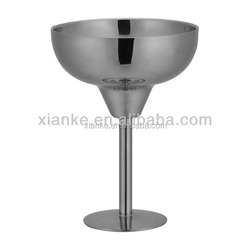 Fashionable Stainless Steel martini cup vodka cocktail goblet