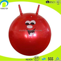 hot sale promotional custom bounce balls with handles