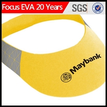 color eva sun visor for promotion /eva foam sun visor cap & hat