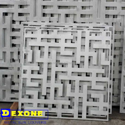 aluminium decorative perforated panel