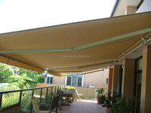 Villa Motorised Folding Porch Sunshade Awning